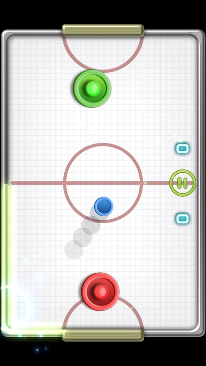 Glow Hockey 2 FREE screenshot-1
