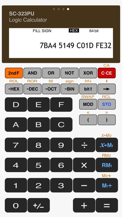 Scientific Calculator - SC-323PU screenshot-4