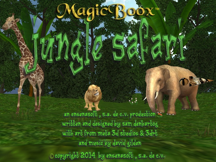 Magic Boox: Jungle Safari