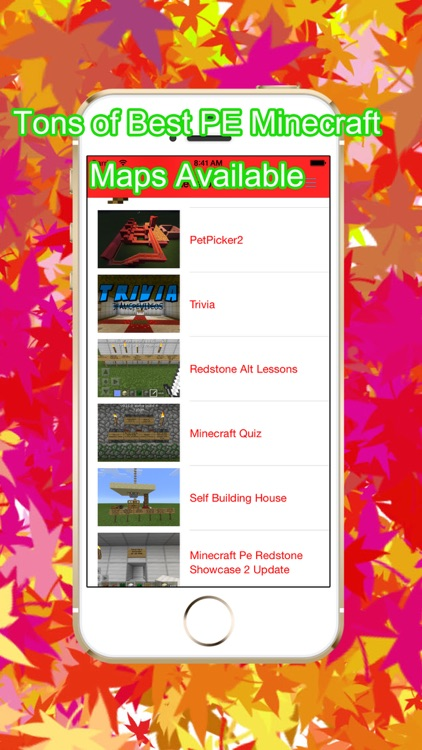 Maps Pro for Minecraft PE Game screenshot-1