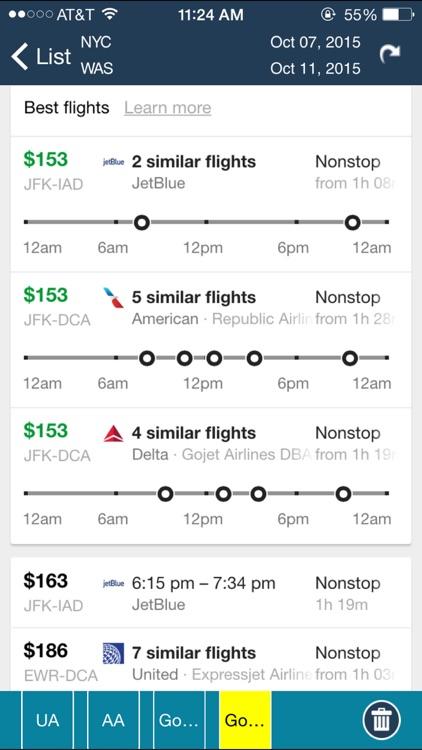 Newark Airport (EWR) Flight Tracker screenshot-4