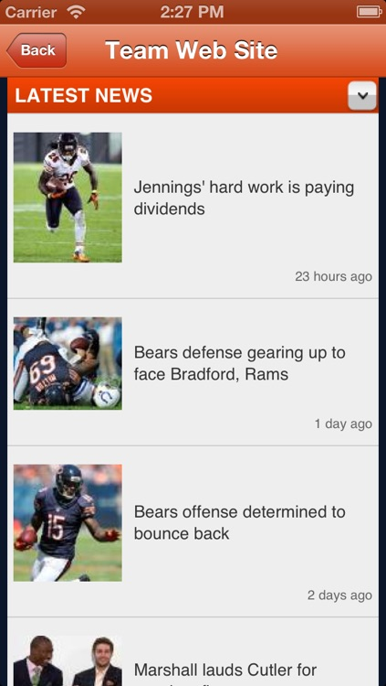 Bears Fan Static screenshot-3