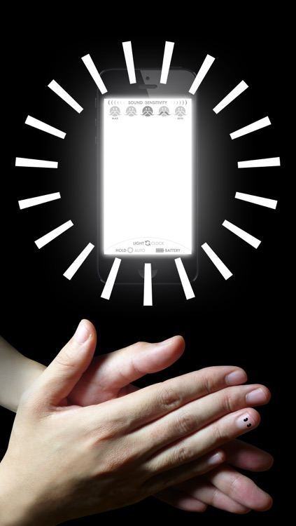 H'clap! 〜Light & Clock - Sound sensor〜