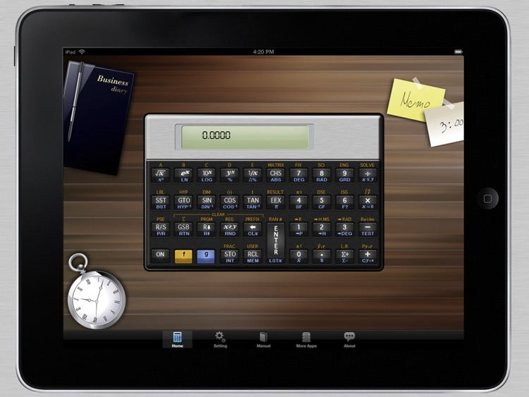 15E Scientific Calculator for iPad