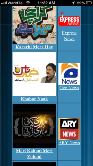 Pakistani News Shows on the App Store
