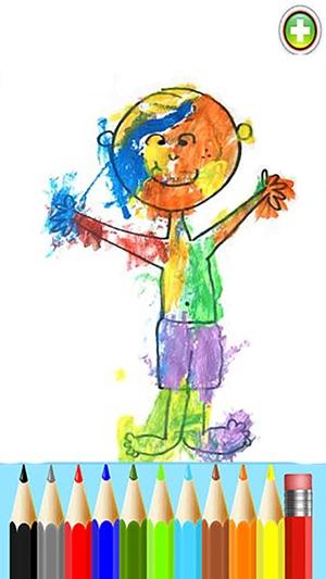 Kid Paint : Easy for Preschoolers,Children Draw,Baby Fun,Kids Train ...