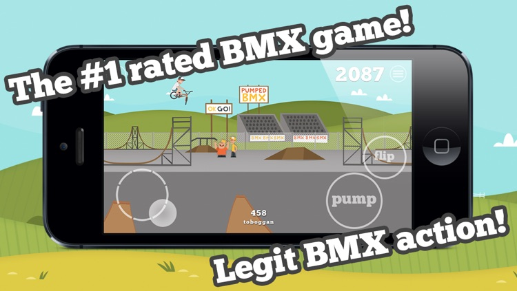 Pumped: BMX screenshot-0