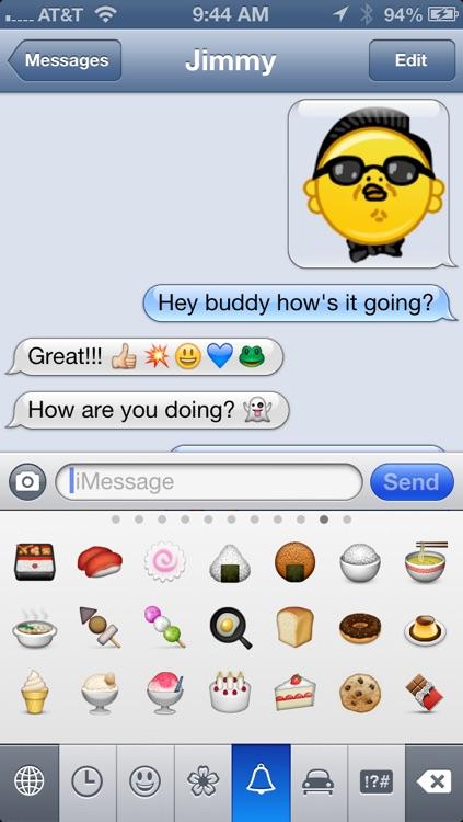 Emoji Characters and Smileys! screenshot-4