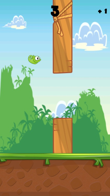 Flappy Chameleon - Free Rainforest Bird Experience