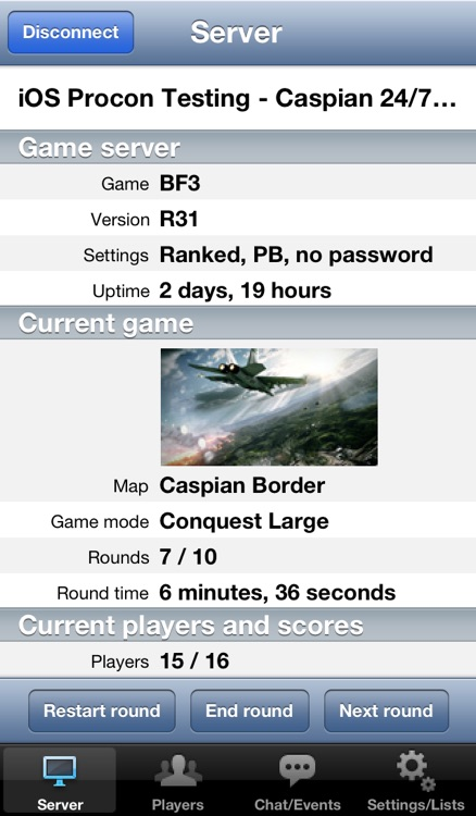 Procon BF3 Edition screenshot-1