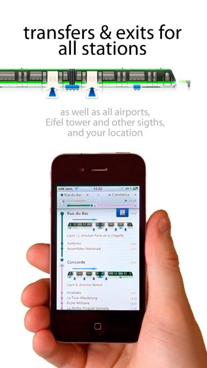 Metro Paris Maps screenshot-3