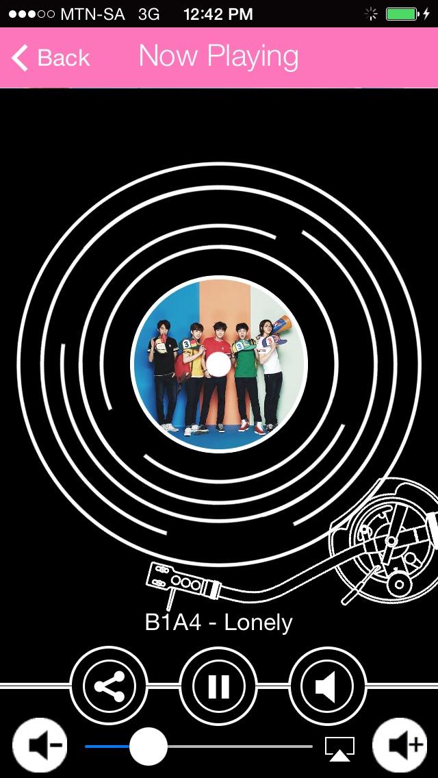 A Radio App Kpop Muzik - Muzik Pop Korea untuk K-pop, snsd, exo, peminat Big Bang / A KPOP Music Radio App - Korean Pop Music for K-pop,snsd,exo,Big Bang fans Screenshot