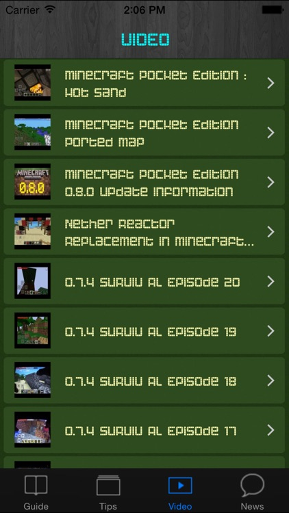 Tips and Cheats Guide for Minecraft Pocket Edition screenshot-4