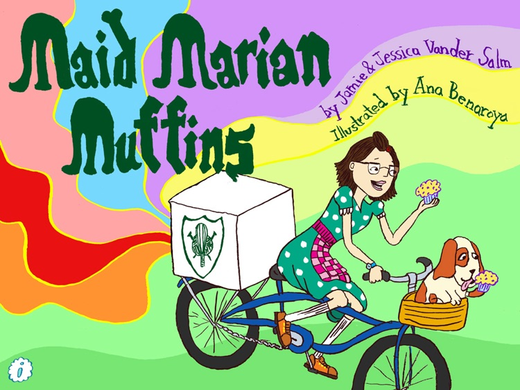 Maid Marian Muffins Children's Book screenshot-0