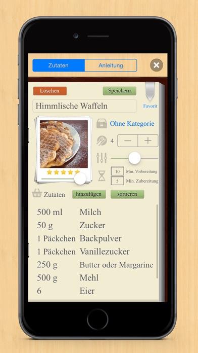 Recipes Book review screenshots