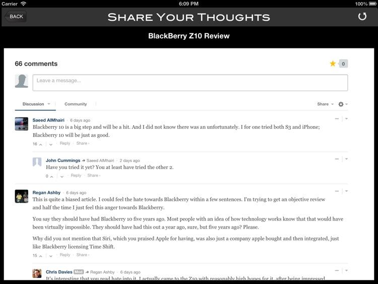 SlashGear for iPad