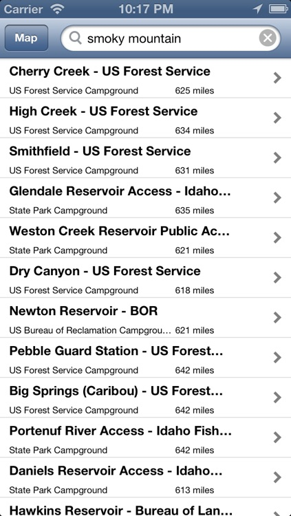 National and State Park Camping Guide - Free screenshot-4