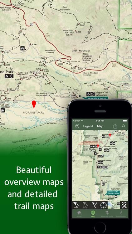 Equator Maps: Rocky Mountain National Park screenshot-3