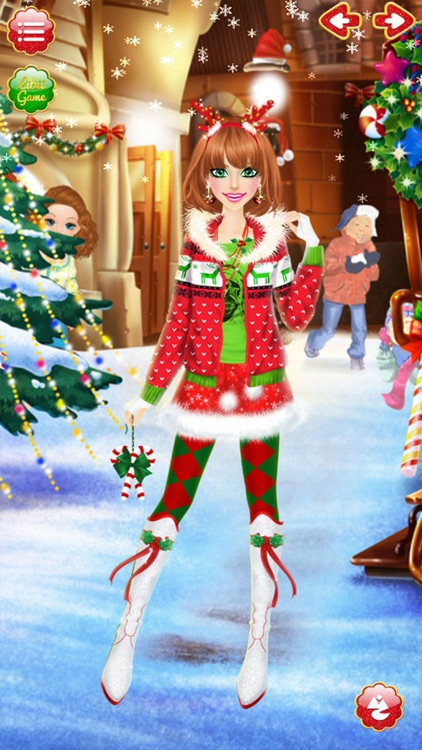 Christmas Salon - Girls Makeup, Dressup and Makeover Games screenshot-4