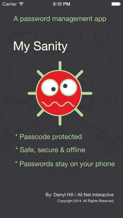 My Sanity - Password Manager