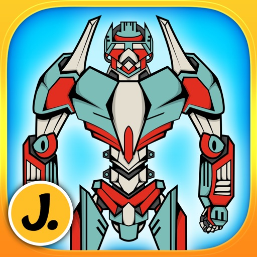 Amazing Heroic Robots - puzzle game for little boys and preschool kids - Free