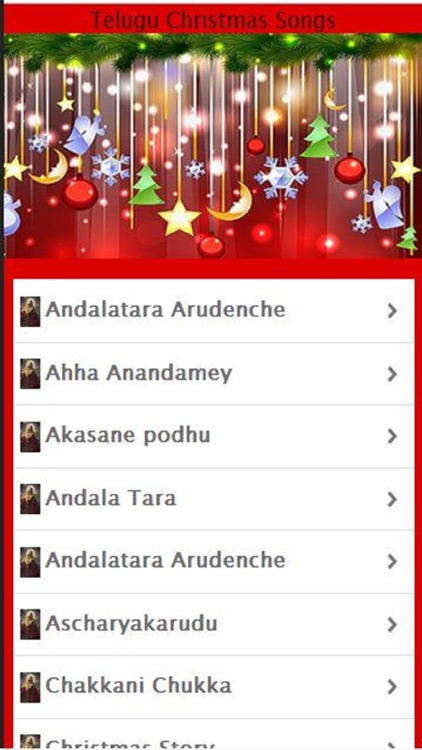 Telugu Christmas Songs