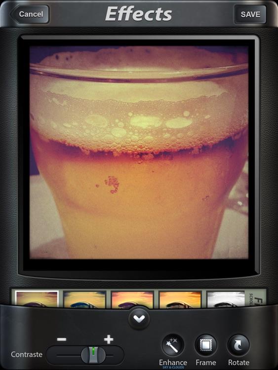 Camera FX for iPad screenshot-4