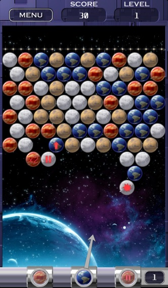 Bubble Shooter Space Edition Скриншоты3