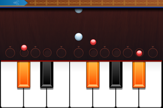 ピアノ レッスン PianoMan/無料ゲームアプリ!最新流行情報先どりのJpop 人気の高いアニメソング オススメ音楽をiPhone iPadで音ゲー感覚に演奏して楽しい時間を!簡単で面白い対戦も! ScreenShot4