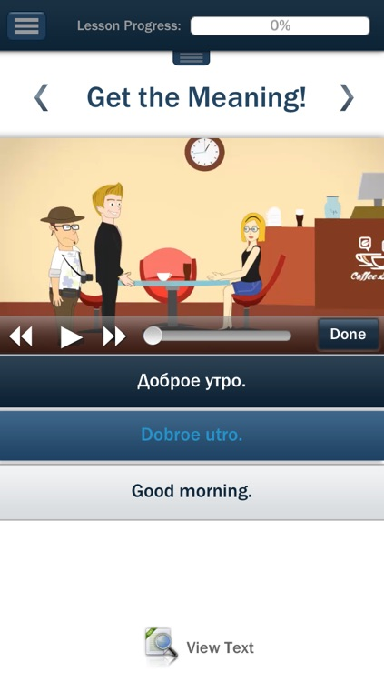 "Russian – Learn Russian (Hello-Hello) ""for iPhone"""
