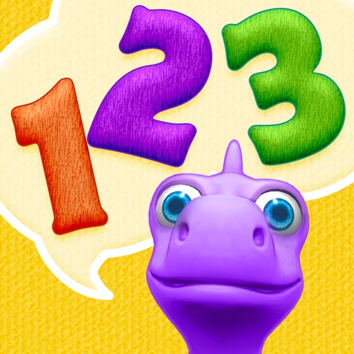 Numbers with Dally Dino - Preschool Kids Learn Counting with A Fun Dinosaur Friend icon