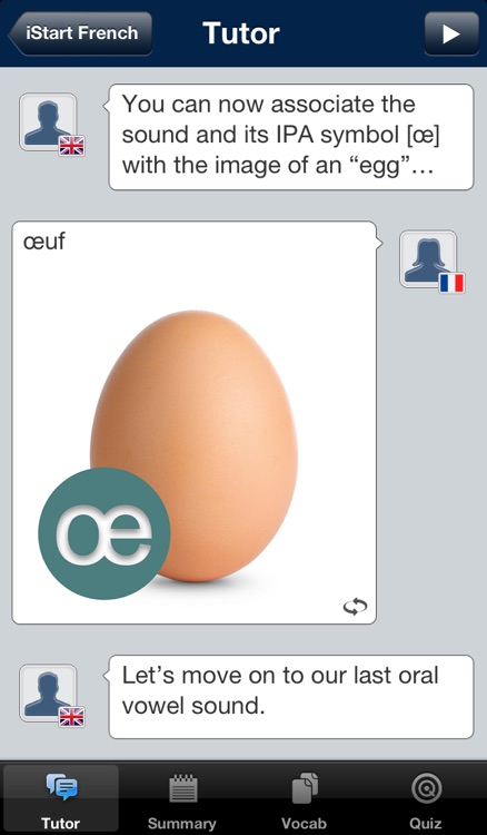 iStart French LITE ~ Mirai Language Systems