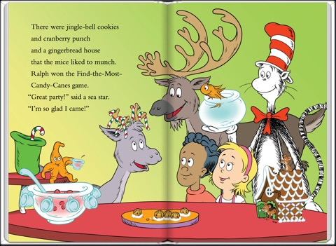 Dr Seuss Christmas.Home For Christmas Dr Seuss Cat In The Hat By Tish Rabe Tom Brannon On Apple Books