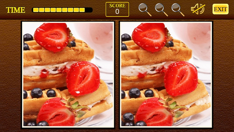 Find the differences Sweet Shop - Sweet Candy Shop + Cupcakes Birthday Deserts Photo Difference Edition Free Game