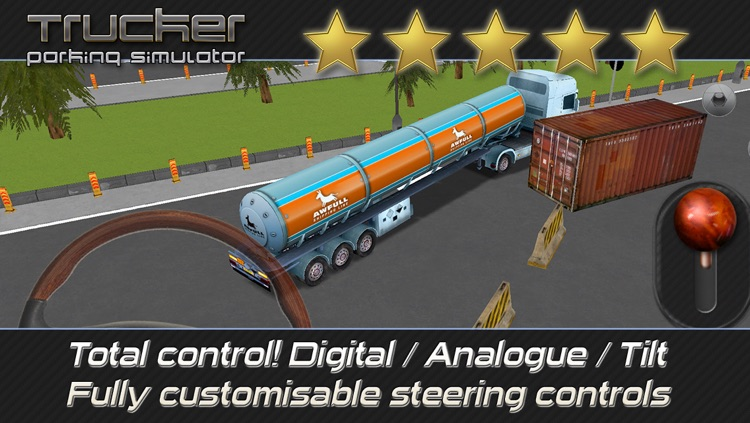 Trucker: Parking Simulator - Realistic 3D Monster Truck and Lorry 'Driving Test' Free Racing Game screenshot-3