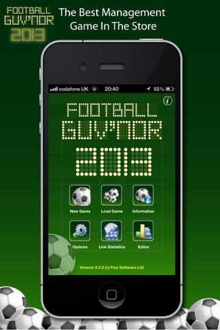 Football Guv'nor på PC