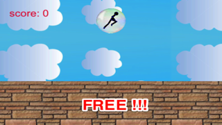 Amazing Bubble And Star: Stickman Runner Free screenshot four