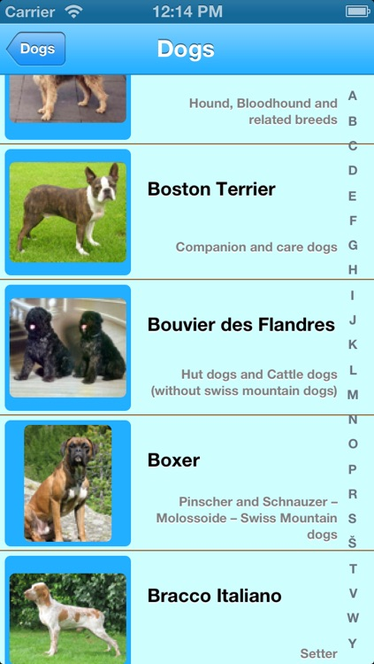 Dogs Info screenshot-1