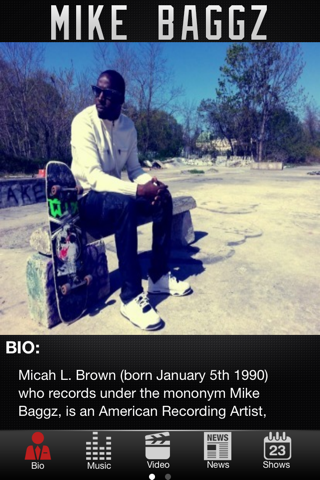 Mike Baggz App screenshot 1