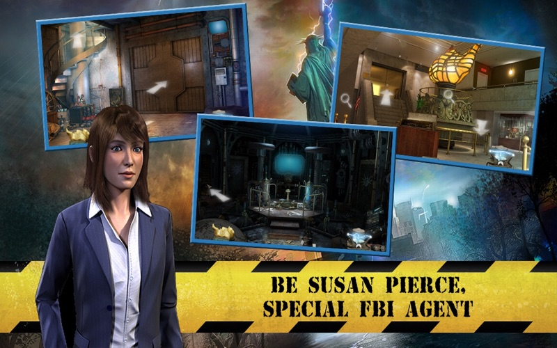 Statue of Liberty the Lost Symbol - A hidden object Adventure (FULL) screenshot 2