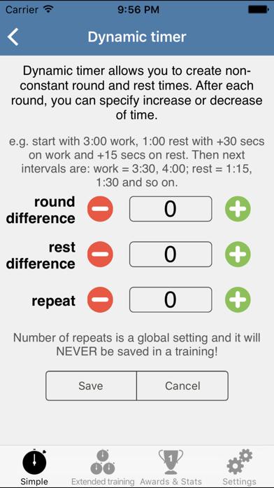 HIIT Interval Training Timer - training timerのおすすめ画像3