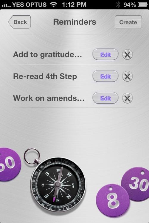 Remindfulness - Recovery Edition screenshot-3