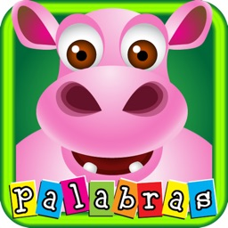 First Spanish words with Phonics: educational game for children