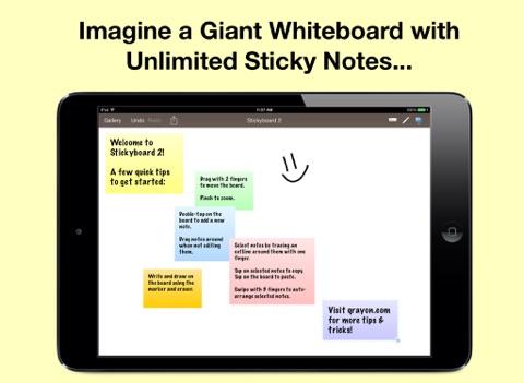 Screenshot #4 pour Stickyboard 2