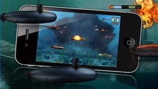 Submarinos batalla Angry - Un juego submarino de guerra!Captura de pantalla de2