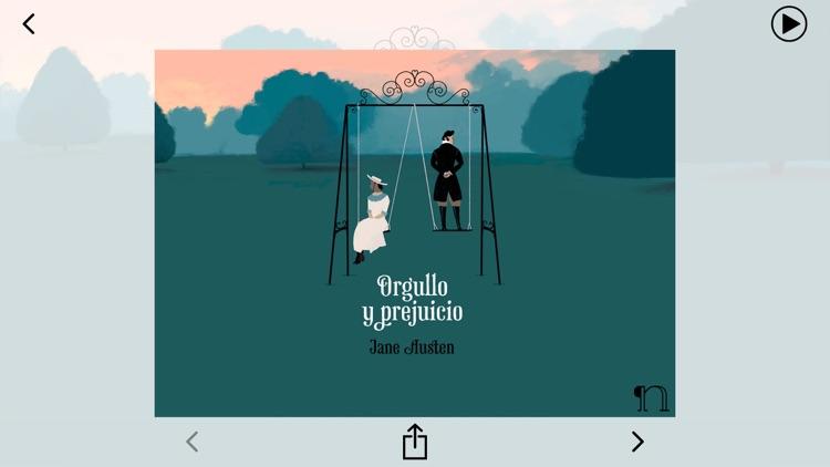 Orgullo y prejuicio - audiolibro - español : castellano screenshot-3