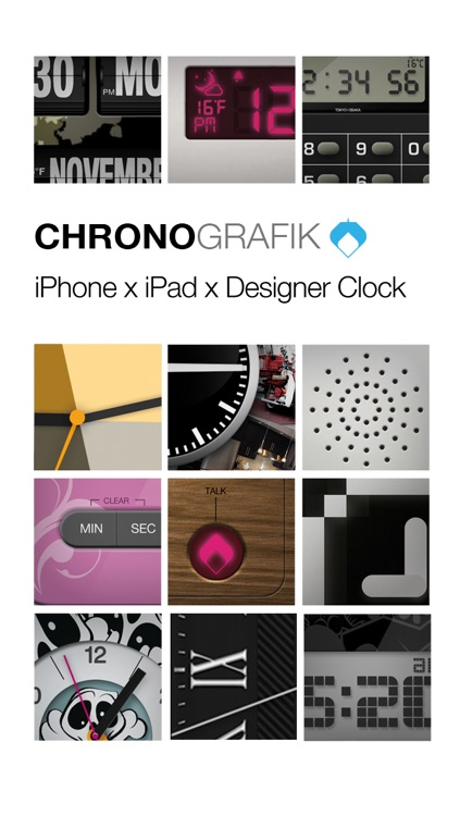 ChronoGrafik-Alarm Clock + Shake to Snooze