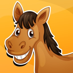 Active Horse Game for Children Age 2-5: Learn for kindergarten, preschool or nursery school with horses