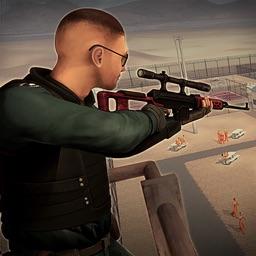 Sniper Duty Prison Yard