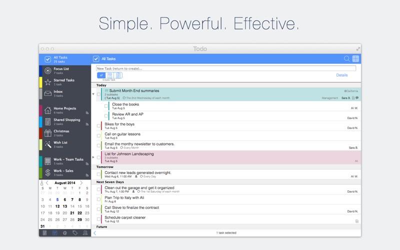 [MàJ] Todo d'Appigo bientôt sur le Mac App Store-capture-1